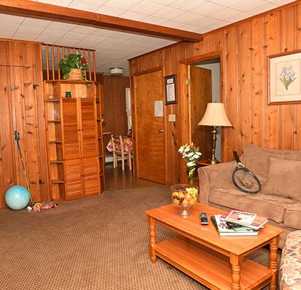 House rental living room area